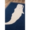 Whale Navy Indoor Outdoor Rug