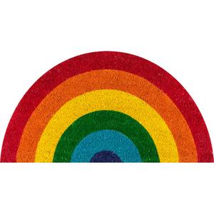 Aloha Rainbow Coir Doormat