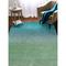 """Liora Manne Arca Ombre Indoor Rug Aqua 7'6""""X9'6"""""""