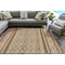 "Liora Manne Artista Diamond Stripe Indoor/Outdoor Rug Sisal 42""X66"""