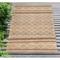 """Liora Manne Artista Diamond Stripe Indoor/Outdoor Rug Sisal 5'X7'6"""""""