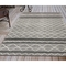 Liora Manne Artista Diamond Stripe Indoor/Outdoor Rug Grey 5'X7'6""