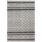 """Liora Manne Artista Diamond Stripe Indoor/Outdoor Rug Grey 8'3""""X11'6"""""""