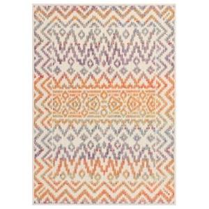 "Liora Manne Beaux Tribal Diamond Indoor Rug Pastel 24""X35"""