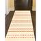 """Liora Manne Beaux Texture Stripe Indoor Rug Sunset 24""""X7'6"""""""