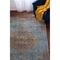 "Liora Manne Beaux Circle Medallion Indoor Rug Aqua 37""X59"""