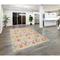 """Liora Manne Beaux Nouveau Indoor Rug Multi Ivory 5'X7'6"""""""