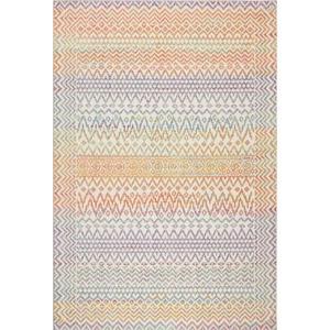 "Liora Manne Beaux Tribal Diamond Indoor Rug Pastel 5'X7'6"""