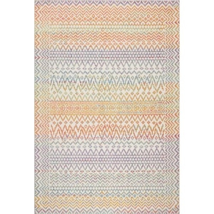 "Liora Manne Beaux Tribal Diamond Indoor Rug Pastel 7'6""X9'10"""