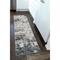 "Liora Manne Bergen Abstract Indoor Rug Grey 23""X7'6"""