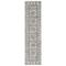 """Liora Manne Bergen Tile Indoor Rug Ivory 23""""X7'6"""""""