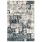 "Liora Manne Bergen Abstract Indoor Rug Grey 4'10""X7'6"""