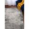 """Liora Manne Bergen Cobblestone Indoor Rug Grey 4'10""""X7'6"""""""