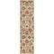 "Liora Manne Calais Vintage Floral Indoor Rug Beige 23""X7'5"""
