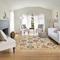"Liora Manne Calais Vintage Floral Indoor Rug Beige 39""X58"""