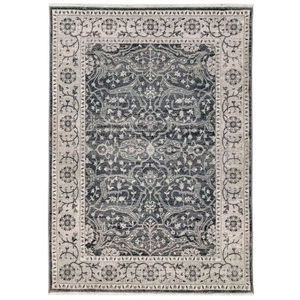 "Liora Manne Calais Oushak Indoor Rug Charcoal 7'10""X10'"