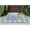 "Liora Manne Capri Starfish Border Indoor/Outdoor Rug Bluewater 20""X30"""
