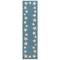 """Liora Manne Capri Starfish Border Indoor/Outdoor Rug Aqua 24""""X60"""""""