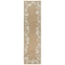 "Liora Manne Capri Seashell Border Indoor/Outdoor Rug Natural 24""X8'"