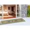 "Liora Manne Carmel Kilim Indoor/Outdoor Rug Green 23""X7'6"""