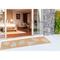 """Liora Manne Carmel Seaturtles Indoor/Outdoor Rug Sand 23""""X7'6"""""""