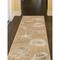 "Liora Manne Carmel Shells Indoor/Outdoor Rug Sand 23""X7'6"""