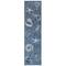 "Liora Manne Carmel Shells Indoor/Outdoor Rug Navy 23""X7'6"""