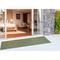 """Liora Manne Carmel Texture Stripe Indoor/Outdoor Rug Green 23""""X7'6"""""""