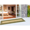 "Liora Manne Carmel Multi Border Indoor/Outdoor Rug Green 23""X7'6"""