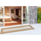 "Liora Manne Carmel Multi Border Indoor/Outdoor Rug Sand 23""X7'6"""