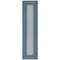 "Liora Manne Carmel Multi Border Indoor/Outdoor Rug Navy 23""X7'6"""