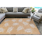 """Liora Manne Carmel Seaturtles Indoor/Outdoor Rug Sand 39""""X59"""""""