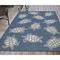 "Liora Manne Carmel Seaturtles Indoor/Outdoor Rug Navy 39""X59"""