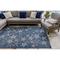 """Liora Manne Carmel Starfish Indoor/Outdoor Rug Navy 39""""X59"""""""