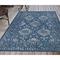 """Liora Manne Carmel Vintage Floral Indoor/Outdoor Rug Navy 39""""X59"""""""