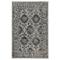 """Liora Manne Carmel Vintage Floral Indoor/Outdoor Rug Black 39""""X59"""""""
