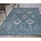 """Liora Manne Carmel Vintage Floral Indoor/Outdoor Rug Teal 39""""X59"""""""