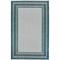 "Liora Manne Carmel Multi Border Indoor/Outdoor Rug Teal 39""X59"""