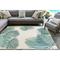 "Liora Manne Carmel Palm Indoor/Outdoor Rug Aqua 39""X59"""