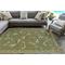 "Liora Manne Carmel Dragonfly Indoor/Outdoor Rug Green 39""X59"""