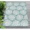 "Liora Manne Carmel Coral Indoor/Outdoor Rug Aqua 39""X59"""