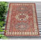"Liora Manne Carmel Kilim Indoor/Outdoor Rug Red 4'10""X7'6"""