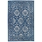 """Liora Manne Carmel Vintage Floral Indoor/Outdoor Rug Navy 4'10""""X7'6"""""""