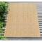 """Liora Manne Carmel Texture Stripe Indoor/Outdoor Rug Sand 4'10""""X7'6"""""""