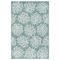 "Liora Manne Carmel Coral Indoor/Outdoor Rug Aqua 4'10""X7'6"""