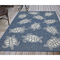 "Liora Manne Carmel Seaturtles Indoor/Outdoor Rug Navy 6'6""X9'4"""