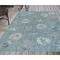 "Liora Manne Carmel Shells Indoor/Outdoor Rug Aqua 6'6""X9'4"""