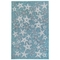 "Liora Manne Carmel Starfish Indoor/Outdoor Rug Aqua 6'6""X9'4"""