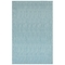 """Liora Manne Carmel Texture Stripe Indoor/Outdoor Rug Aqua 6'6""""X9'4"""""""