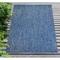 """Liora Manne Carmel Texture Stripe Indoor/Outdoor Rug Navy 6'6""""X9'4"""""""